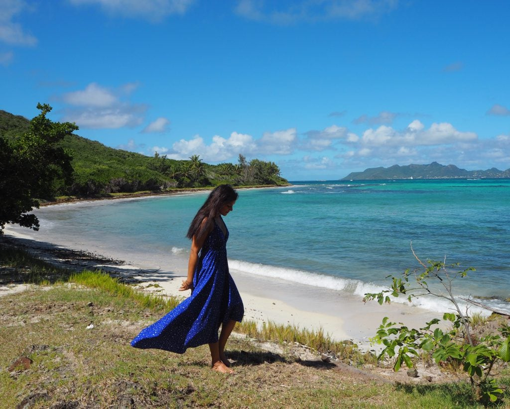 The Style Traveller Bonnie Rakhit what to wear in the caribbean silk fred