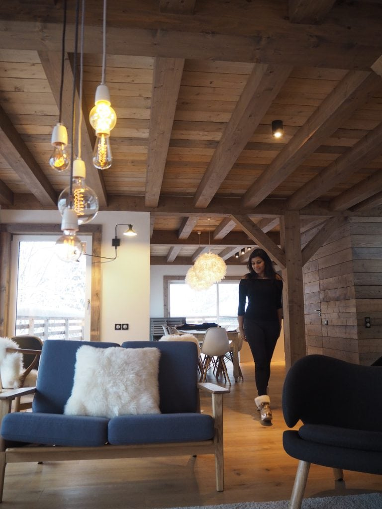 The white valley company luxury ski morzine stylish chalet