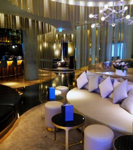 cocktail lounge at the W hotel