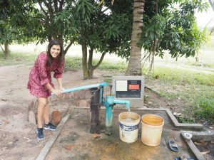 building wells in cambodia