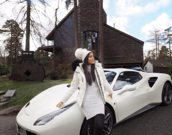 The Style Traveller spa break in the Lake District with Ferrari