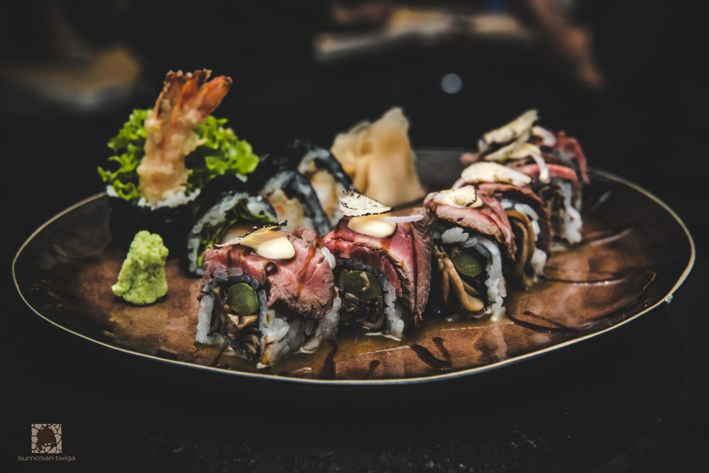 Sumosan twiga London restaurants wagyu sushi