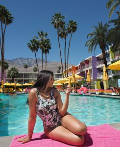 Bonnie Rakhit hotel Saguaro palm springs imstagram places
