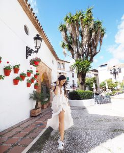 Style traveller Bonnie Rakhit where to stay luxury Marbella Bonnie Rakhit