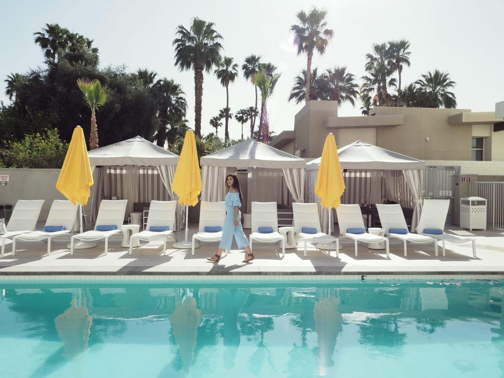 Bonnie Rakhit Style Traveller top 10 instagrammable palm springs and coachella hotel paseo