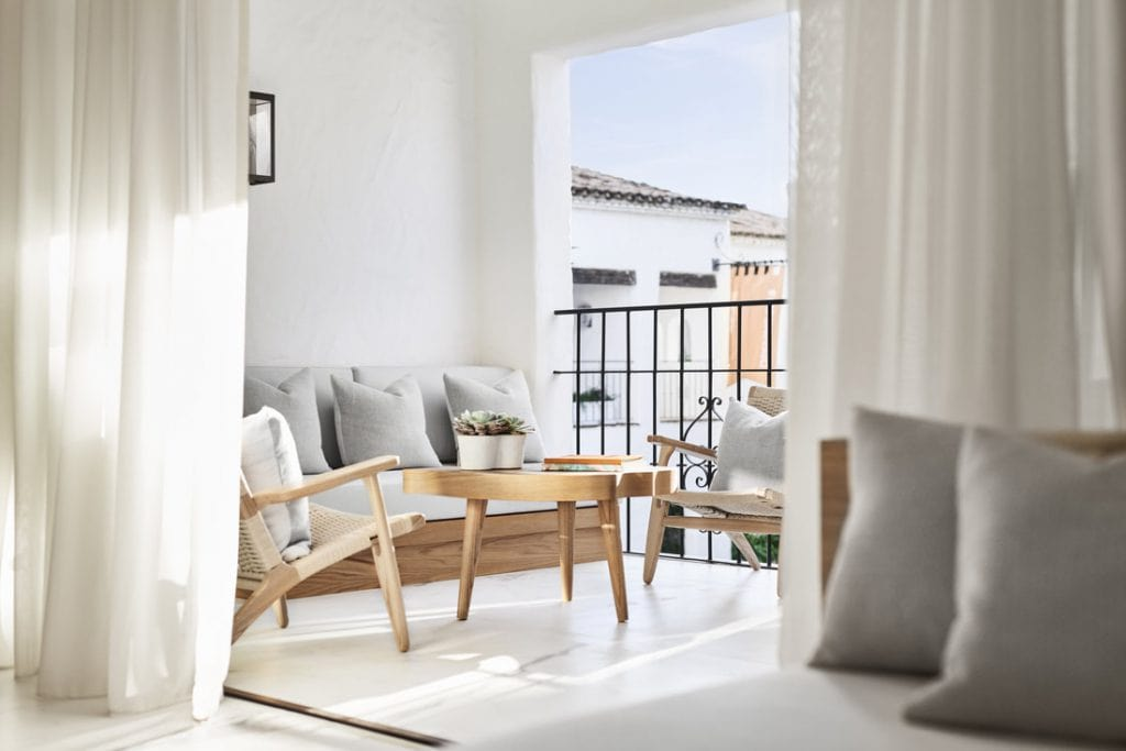where to stay luxury Marbella Nobu hotel bedroom suite