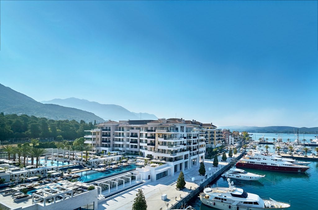amazing aerial view at The Regent Porto Montenegro