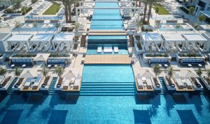 amazing swimming pool at The Regent Porto Montenegro