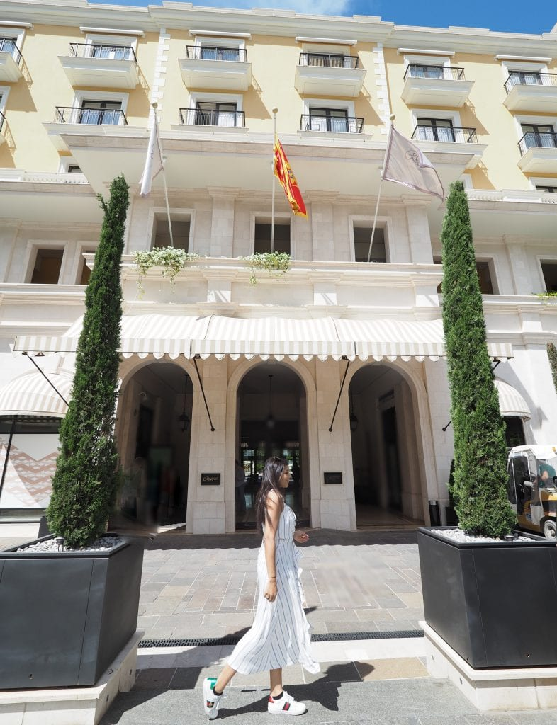 Bonnie Rakhit Style Traveller at Regent porto Montenegro luxury hotel where to stay european summer break
