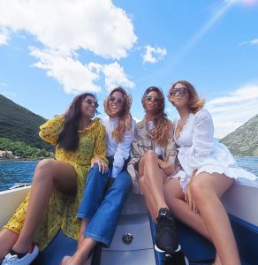 Montenegro luxury hotel what to do in Kotor yacht trip Collyer twins and TaniaBDarling