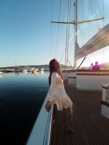 Bonnie Rakhit Style Traveller at Regent porto Montenegro luxury hotel what to do in yacht trip