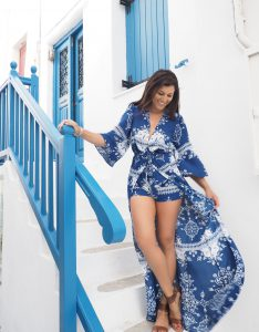 Bonnie Rakhit what to do and what to wear in Mykonos