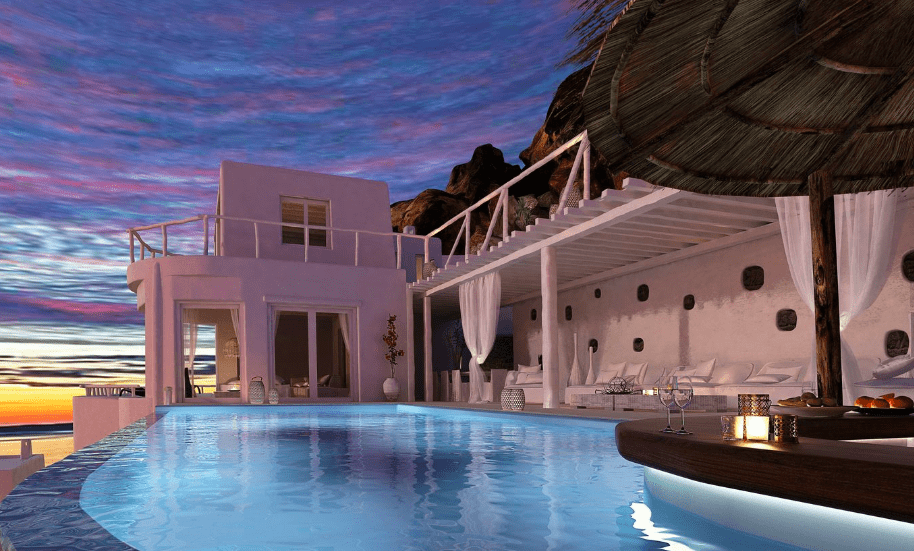 helios retreats luxury villa accommodation Mykonos