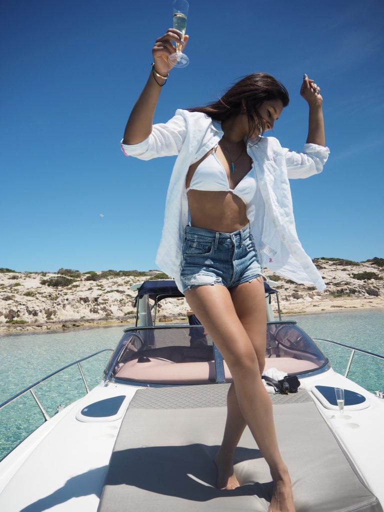 Bonnie Rakhit smart charter ibiza best instagram locations Ibiza