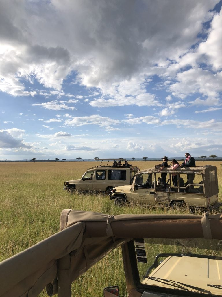 Fairmont jeeps on best luxury masai mara safari tour