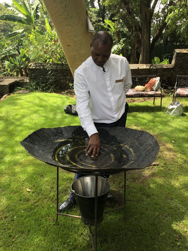 Fairmont mount kenya equator ceremony