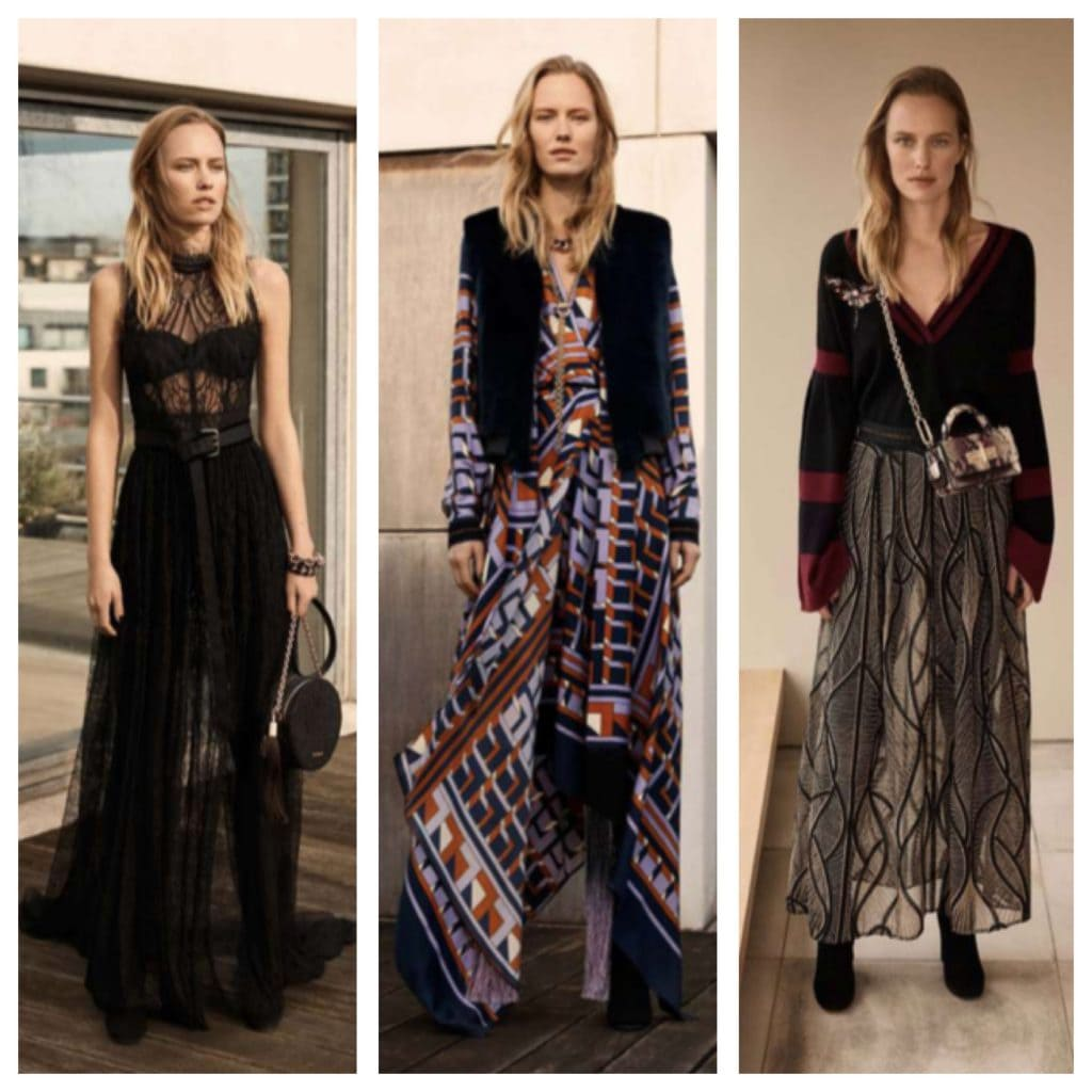Amanda Wakeley aw18 collection moth applique pieces