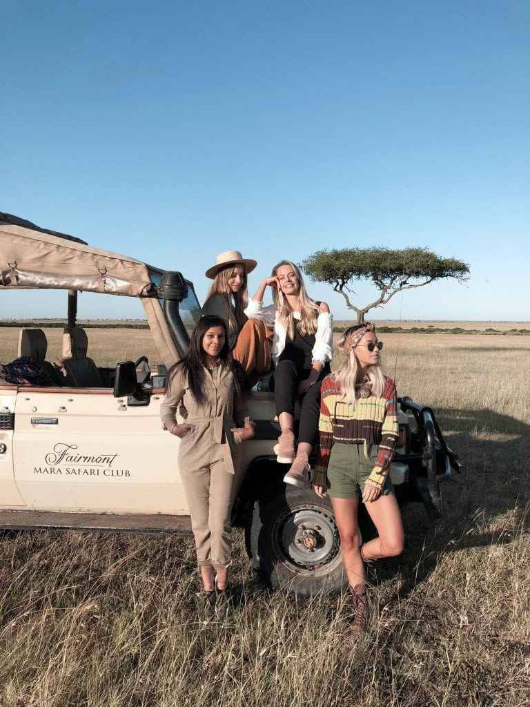 Bonnie Rakhit, Meg legs, And a thousands words and Blonde Flamingo in Africa with citizen femme and fairmont africa safari