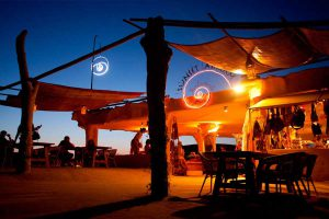sunset ashram ibiza hippie beach club
