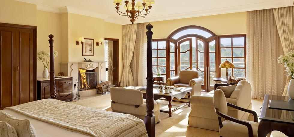 Fairmont mount kenya luxury hotel Africa bedrooms