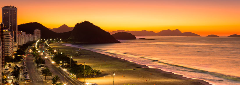 Copacabana-Beach-Rio view from Miramar by windsor preffered hotels