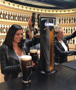 Guinness Factory ireland dublin things to do pulling pints