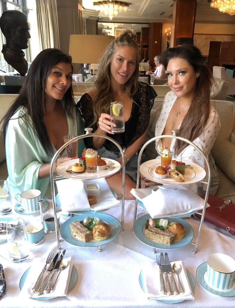 The Westbury Dublin Irelands coolest Hotel best afternoon tea Bonnie rakhit, Lorna luxe, Maja Malnar