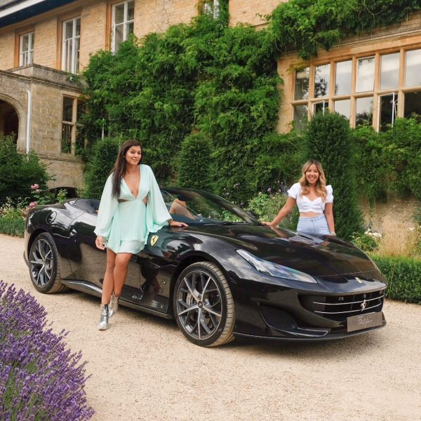Bonnie Rakhit Ferrari sports cars girls weekend road trip Slaughter manor house MIss Gunner