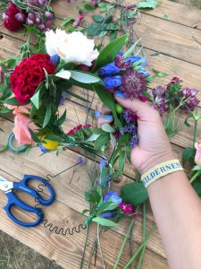 Making Festival Flower Crowns with Bloom & Wild Bonnie Rakhit best london florist