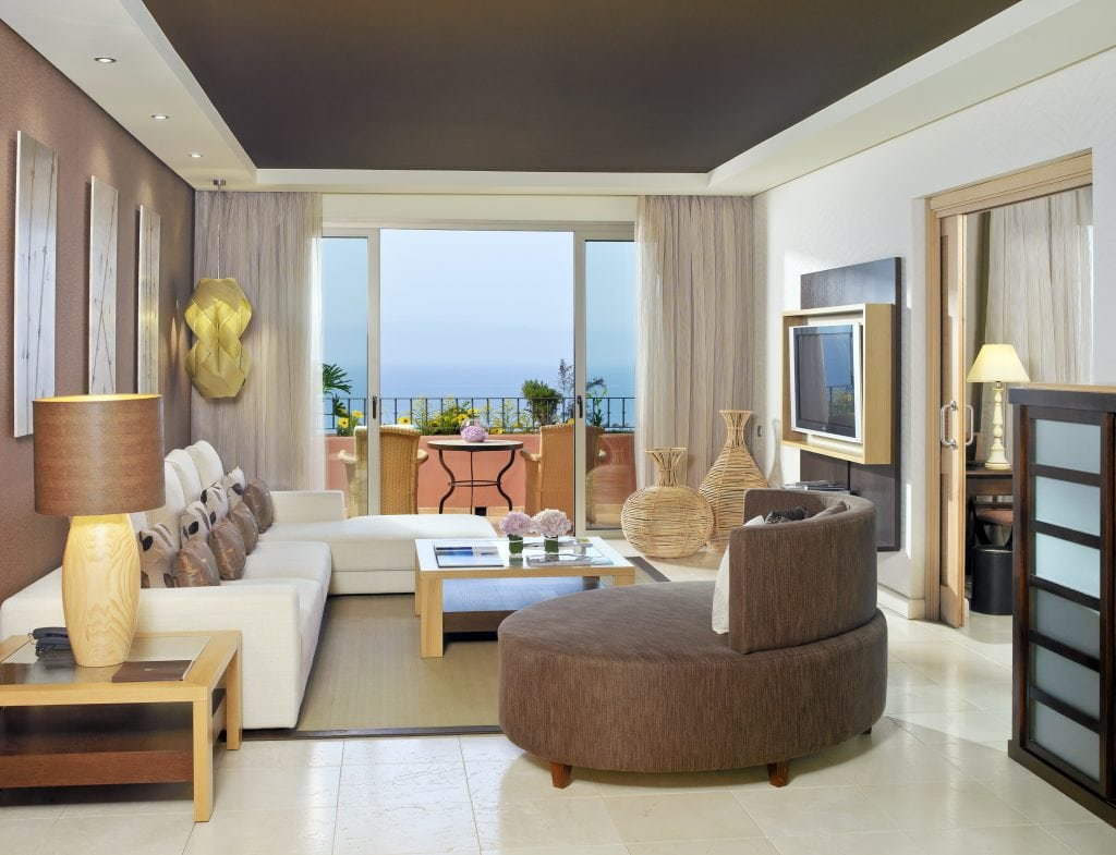 Beautiful hotels Ritz Carlton Abama Tenerife stylish design hotel rooms