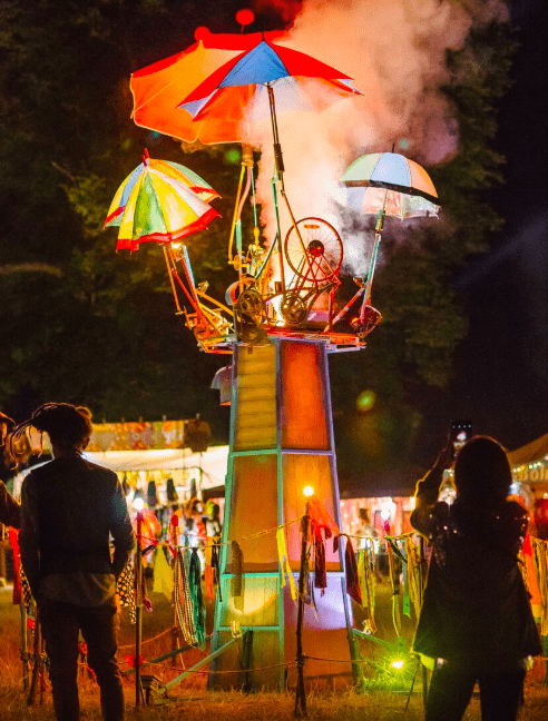 Fun and fireworks and art installations at Wilderness Festival 2018