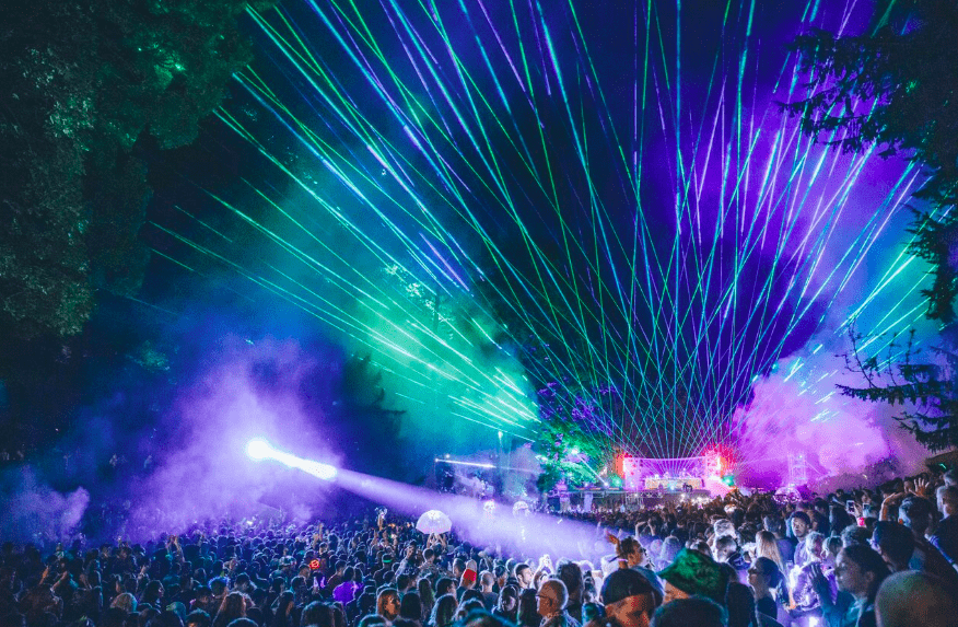Wilderness festival 2018 best festivals the valley at night