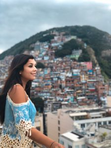 Beautiful rooftop favela view at Miramar by Windsor Rio de Janeiro Brazil Bonnie Rakhit