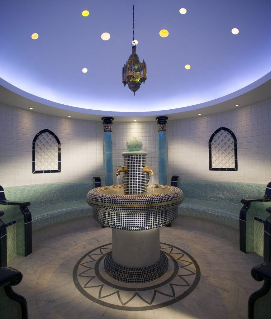 Beautiful hotels Ritz Carlton Abama Tenerife stylish Spa Turkish bath