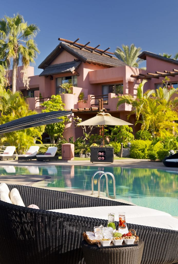 Beautiful hotels Ritz Carlton Abama Tenerife stylish swimmin pools
