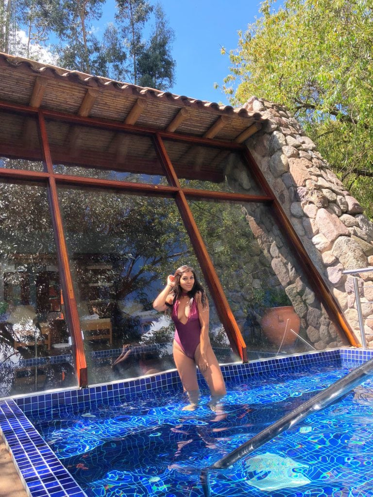 Best hotel in Sacred valley Peru Belmond Rio Sagrado hotel spa and pool Bonnie Rakhit