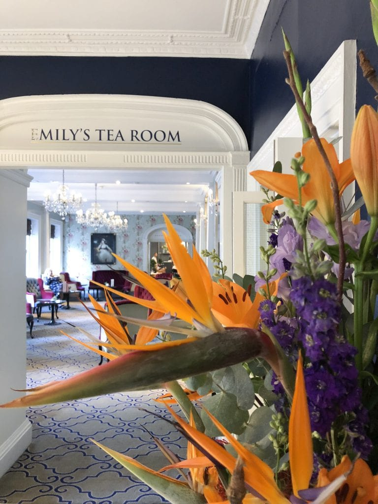 Francis hotel bath M gallery by Sofitel milly's tea room afternoon tea