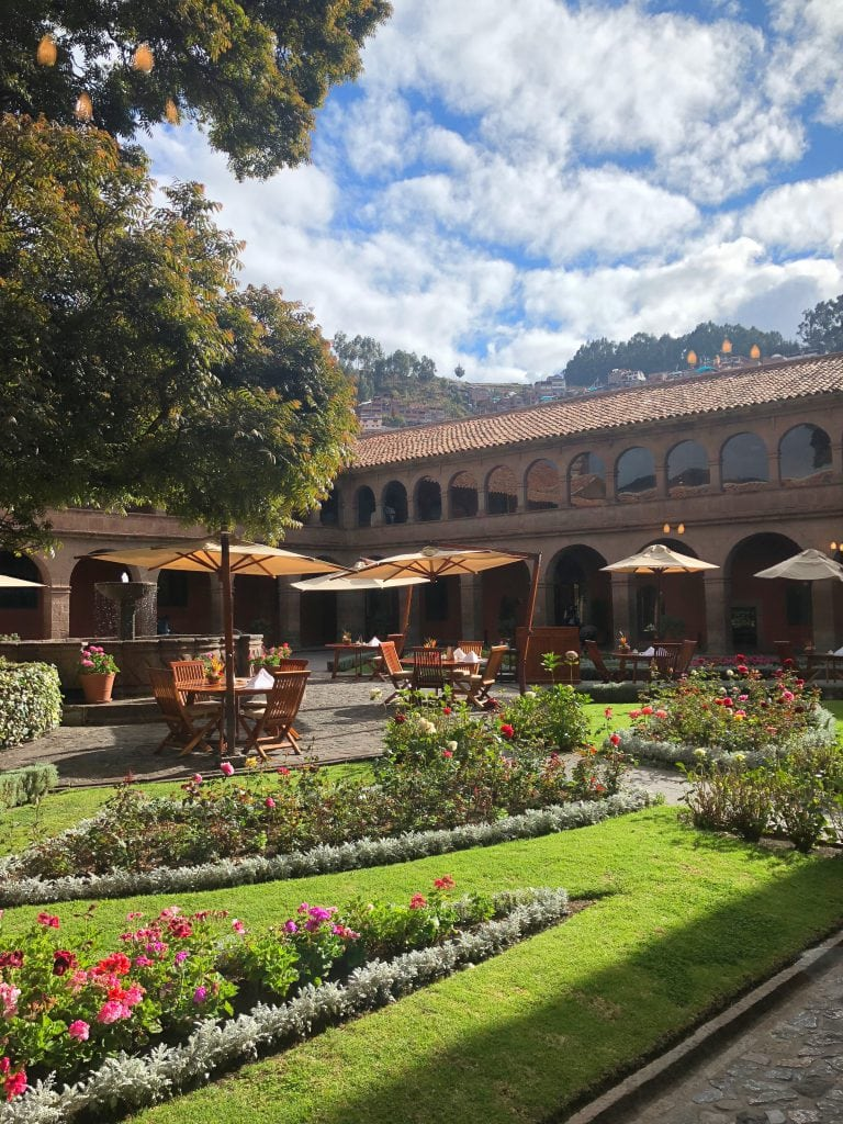 Belmond Monasterio best luxury hotels beautiful setting monastery arches Peru