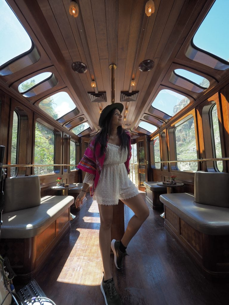 Bonnie Rakhit Peru in Luxury Hiram Belmond Bingham train to Machu Picchu and Sacred Valley