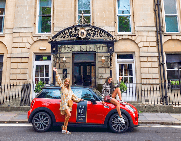 A Mini Adventure - Girl Road Trip to Bath and Windsor mgallery sofitel