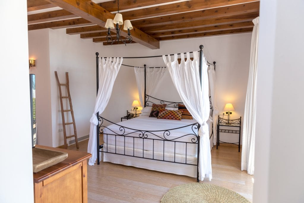 Bonnie Rakhit style traveller Casa Maca Ibiza beautiful bedroom
