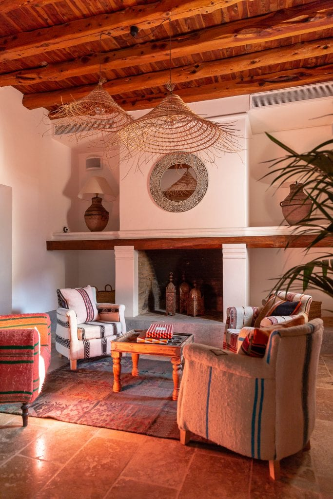 Bonnie Rakhit style traveller Casa Maca Ibiza living room