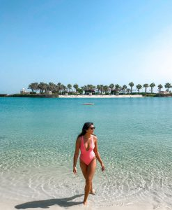 bonnie rakhit where to stay in Bahrain pool and beach