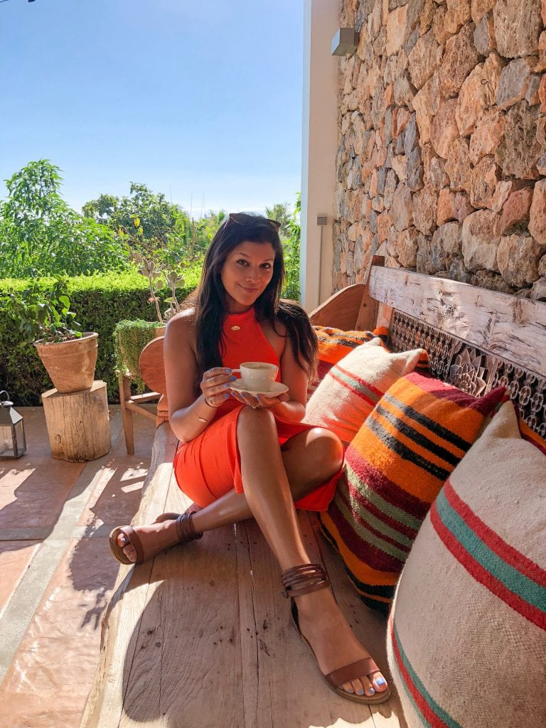 Bonnie Rakhit style traveller Casa Maca Ibiza where to eat
