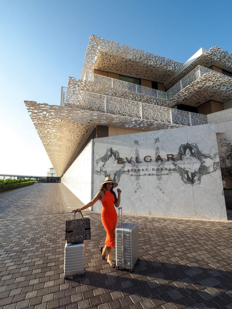 Bonnie Rakhit most expensive coolest fashion hotels Dubai Bulgari resort