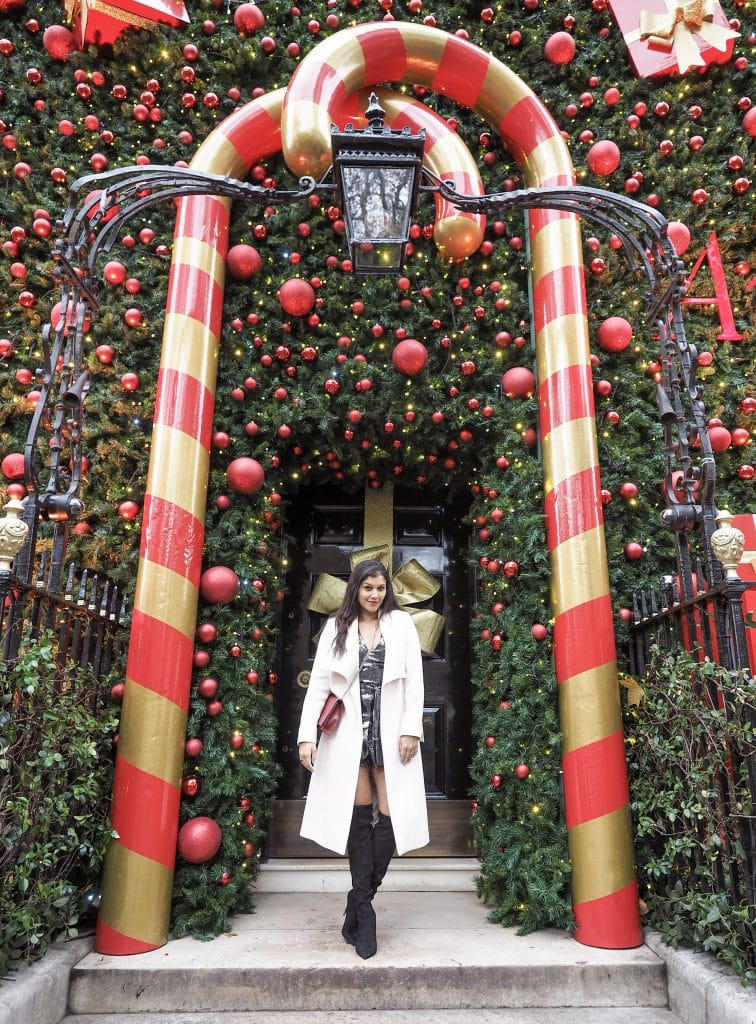 Bonnie Rakhit London Christmas Locations Annabel's