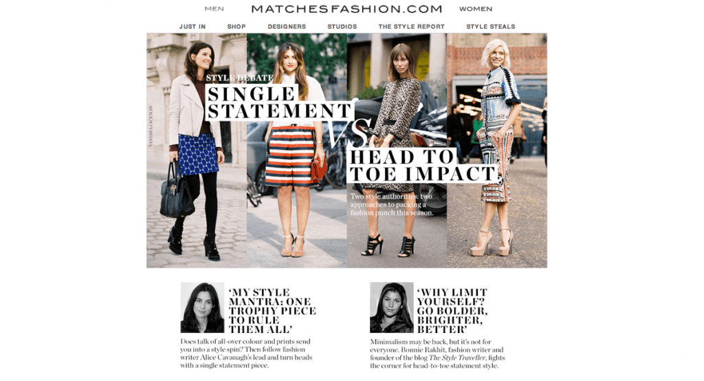 Matches Fashion.com - May 13