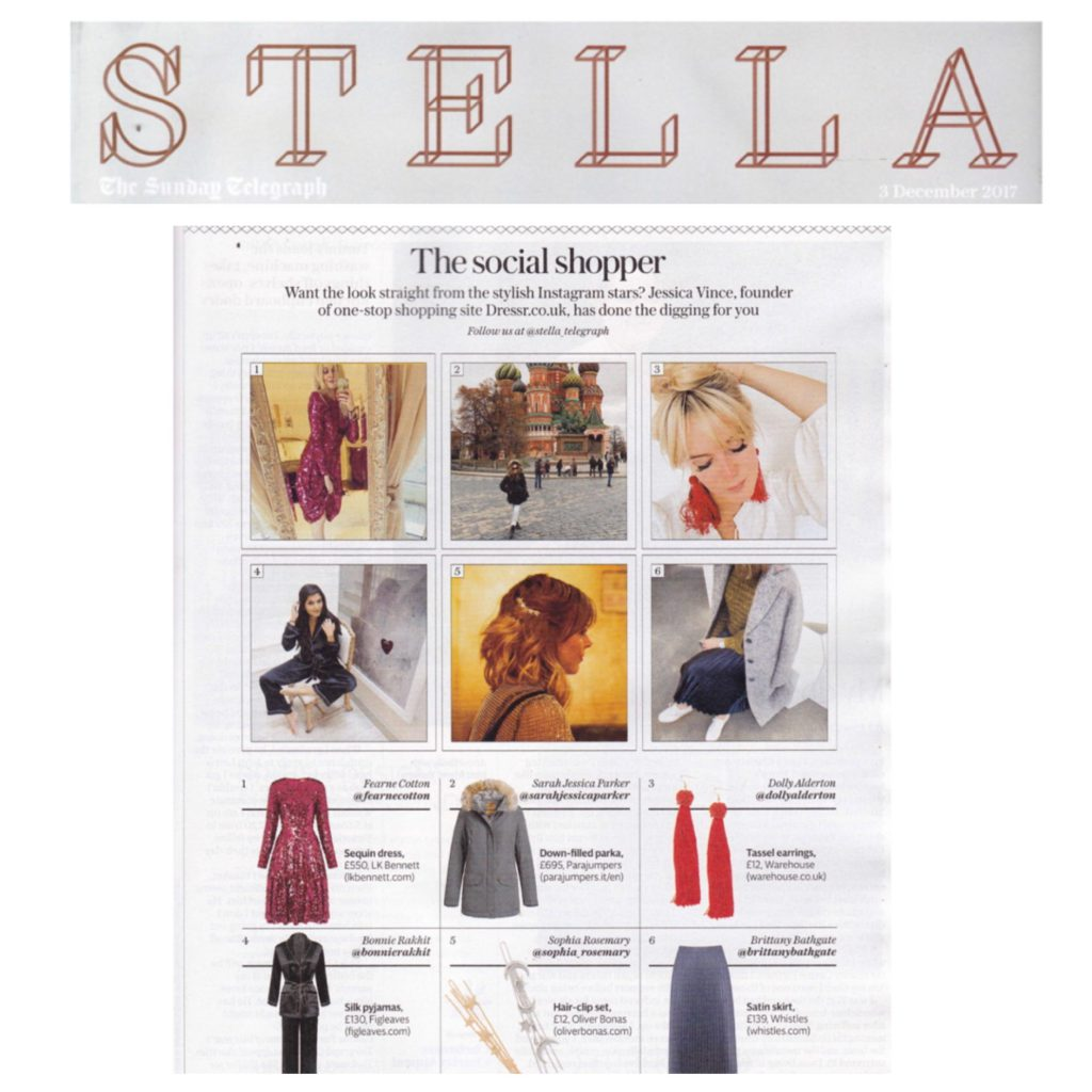 STELLA MAGAZINE, THE TELEGRAPH - DEC 17