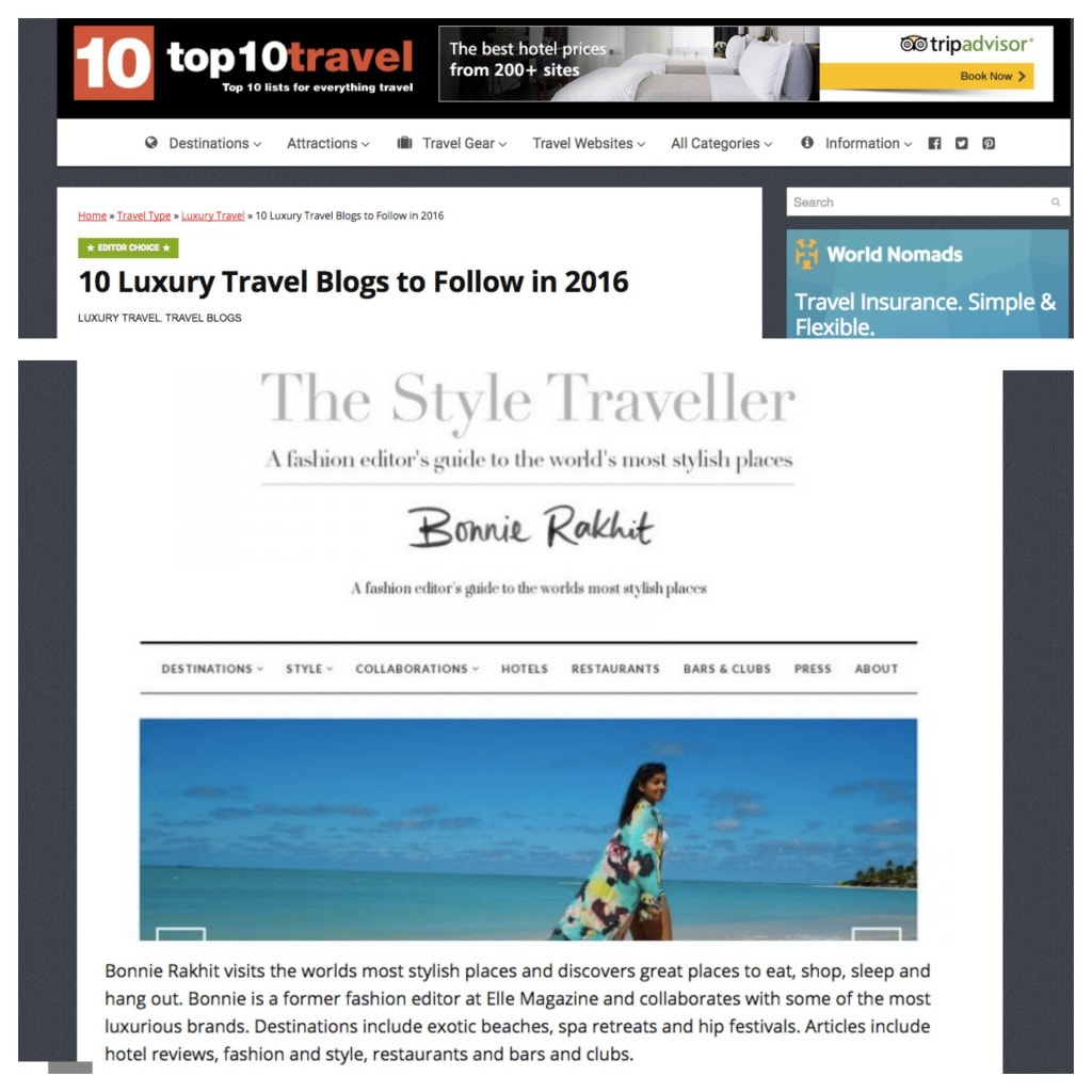 Top 10 Travel - July 16