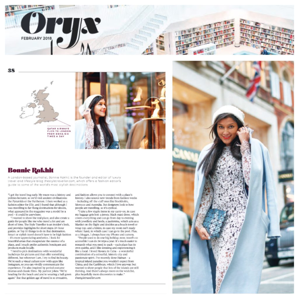ORYX QUATAR AIRWAYS MAGAZINE - MAR 18